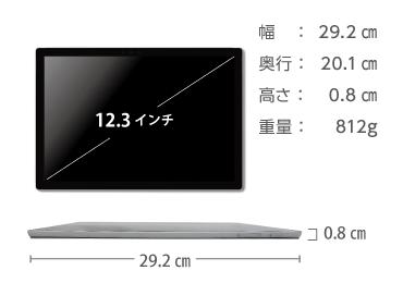 Microsoft Surface Pro LTE(i5/8GBモデル) 画像2