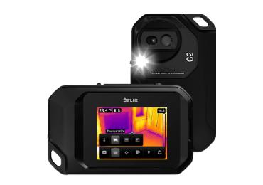 FLIR サーマルカメラセット(FLIR C2+43型モニター+ノートPC) 画像1
