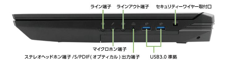 DAIV-NG7610E1-S5+HTC Viveセット(右側)
