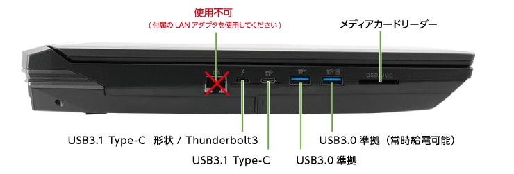 DAIV-NG7610E1-S5+HTC Viveセット(左側)