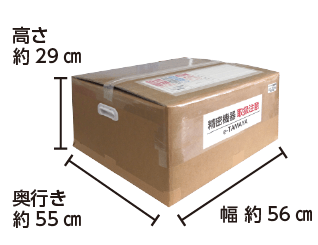マウスコンピューター DAIV-DGX755U4-M2S5 配送用箱サイズ
